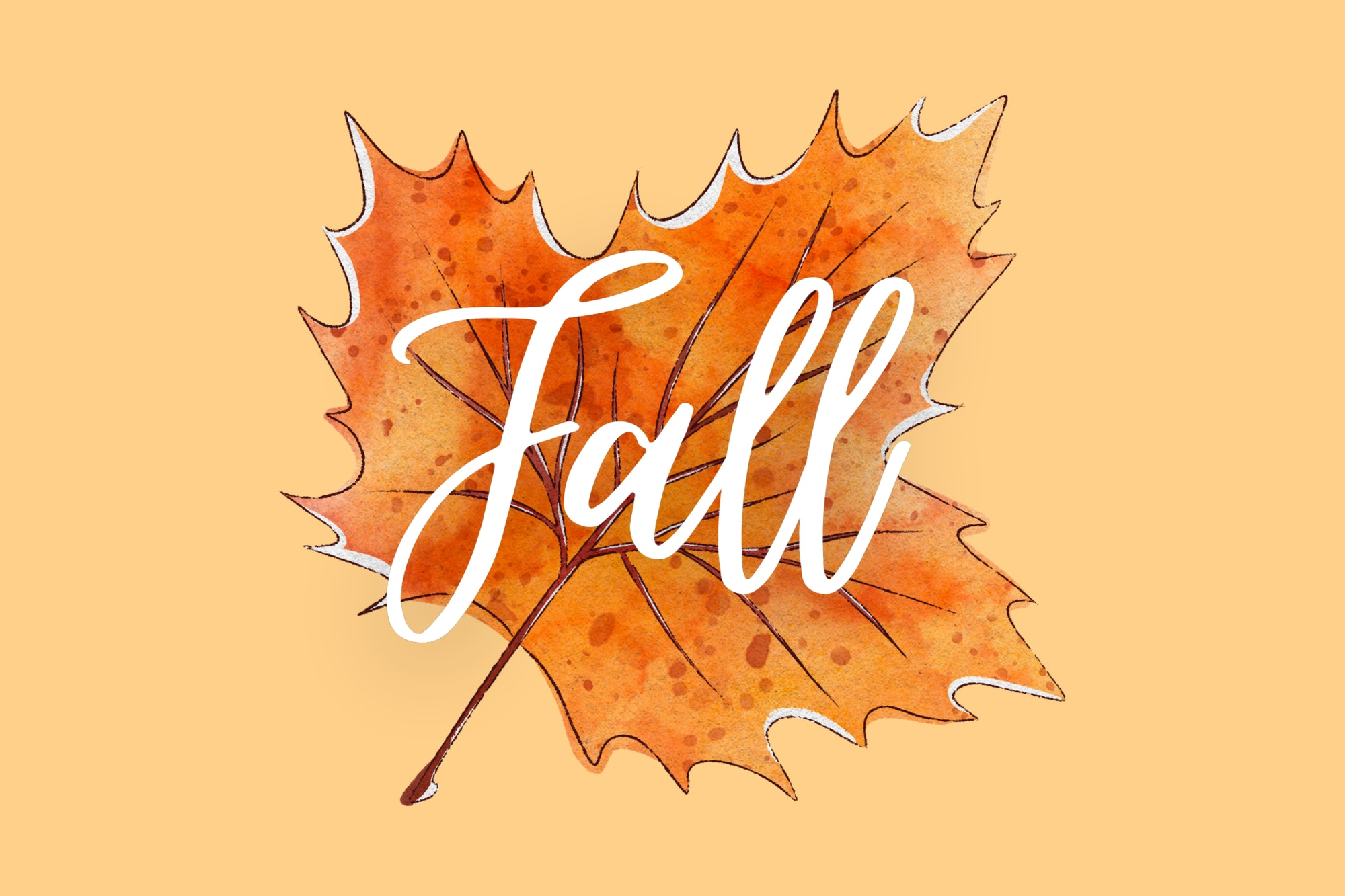 Fall Banner for Fun at Home