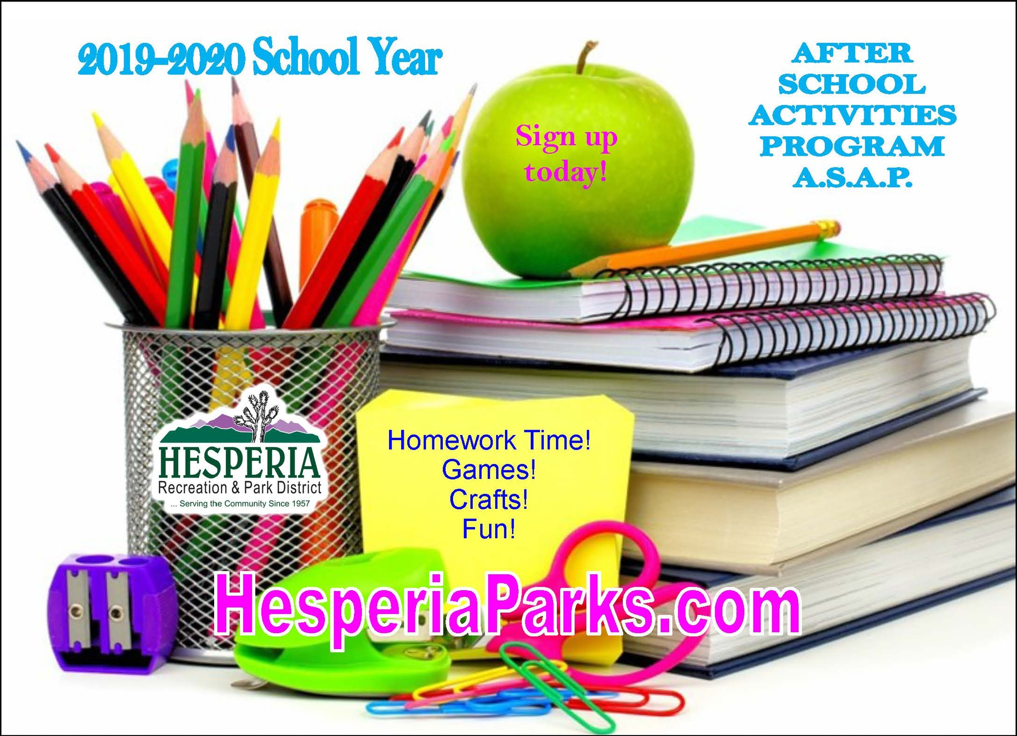 Kids Kamp/ASAP - Hesperia Recreation and Park District