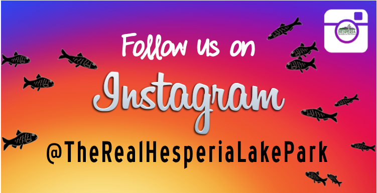 Follow us on Instagram @TheRealHesperiaLakePark