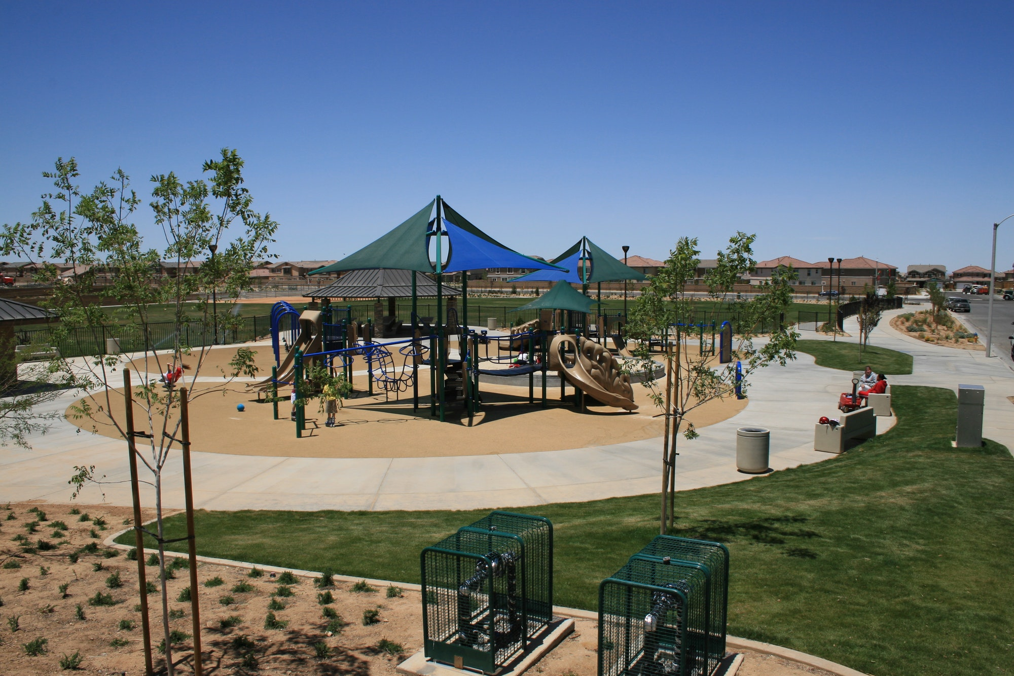 Malibu Park playground