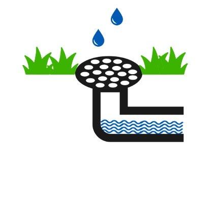 yard drain icon