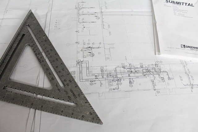 Image of blueprints