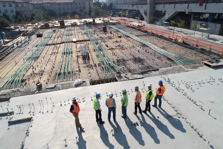 Image of an existing construction project