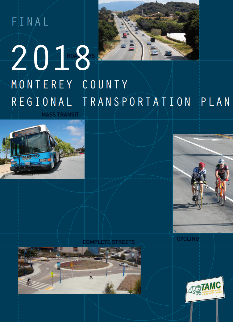 Cover page of 2018 Regional Transportation Plan