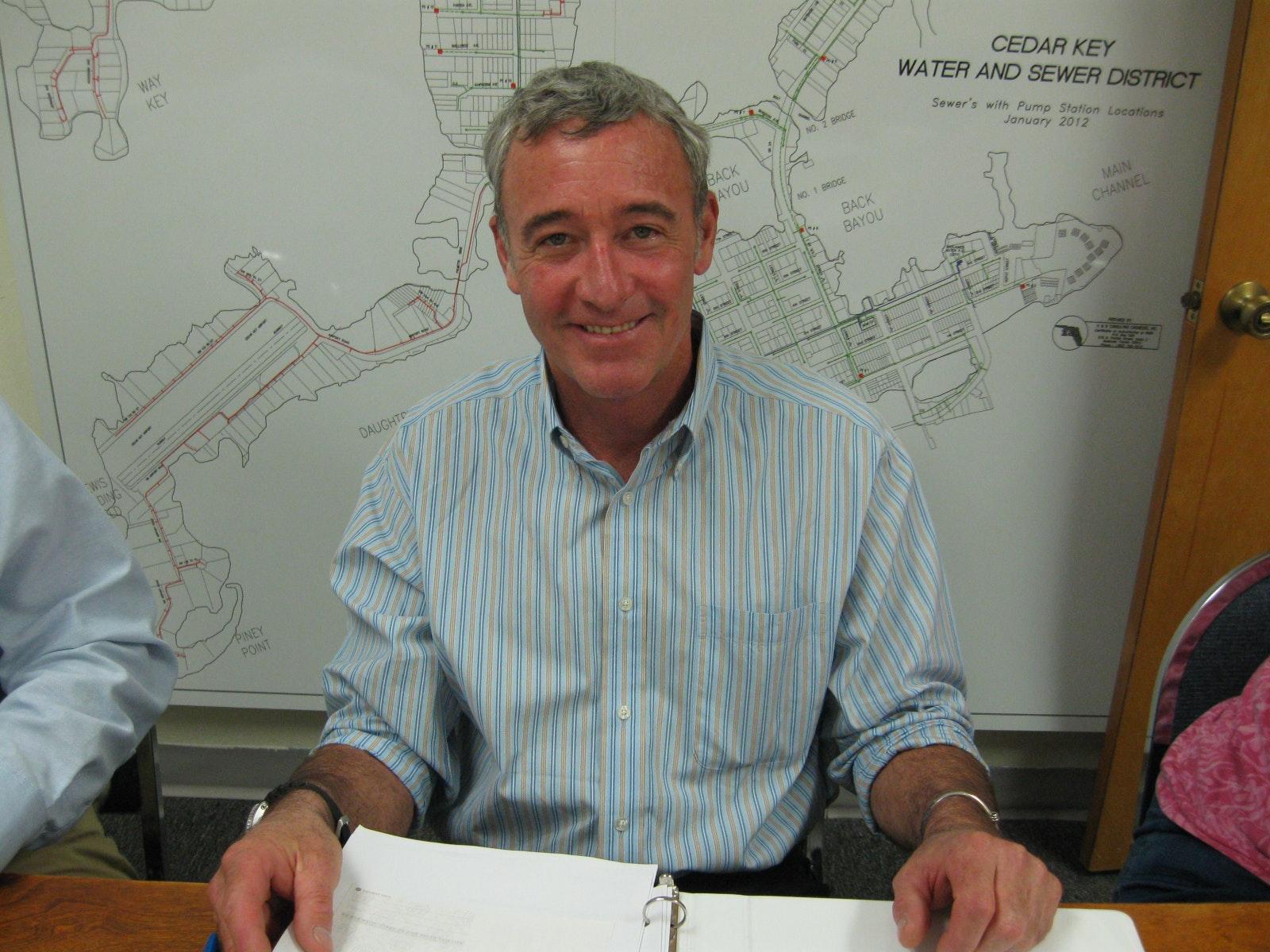 Photo of Chris Reynolds, Board Member