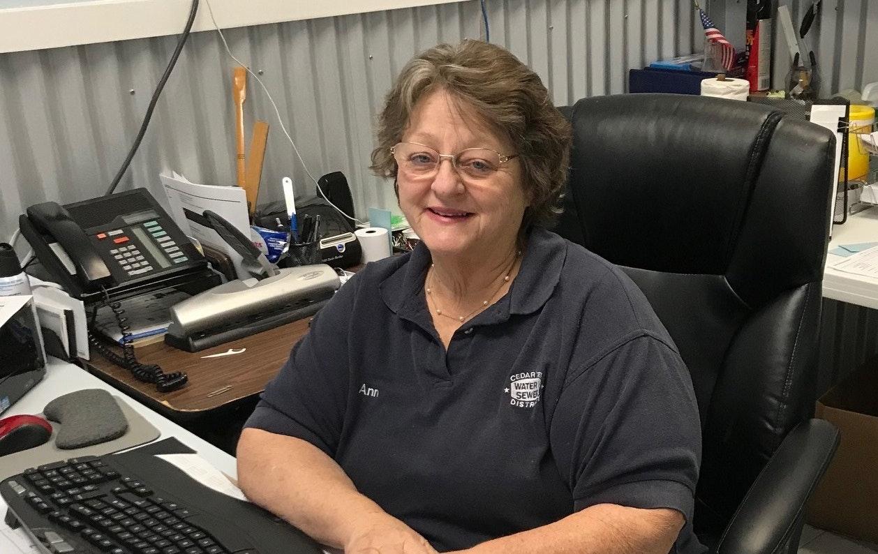 Photo of Ann Richburg, Administrative Secretary