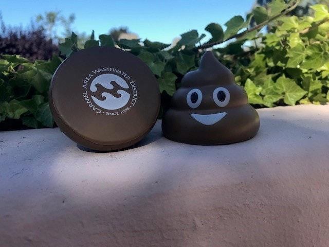 Poop emoji/CAWD mascot
