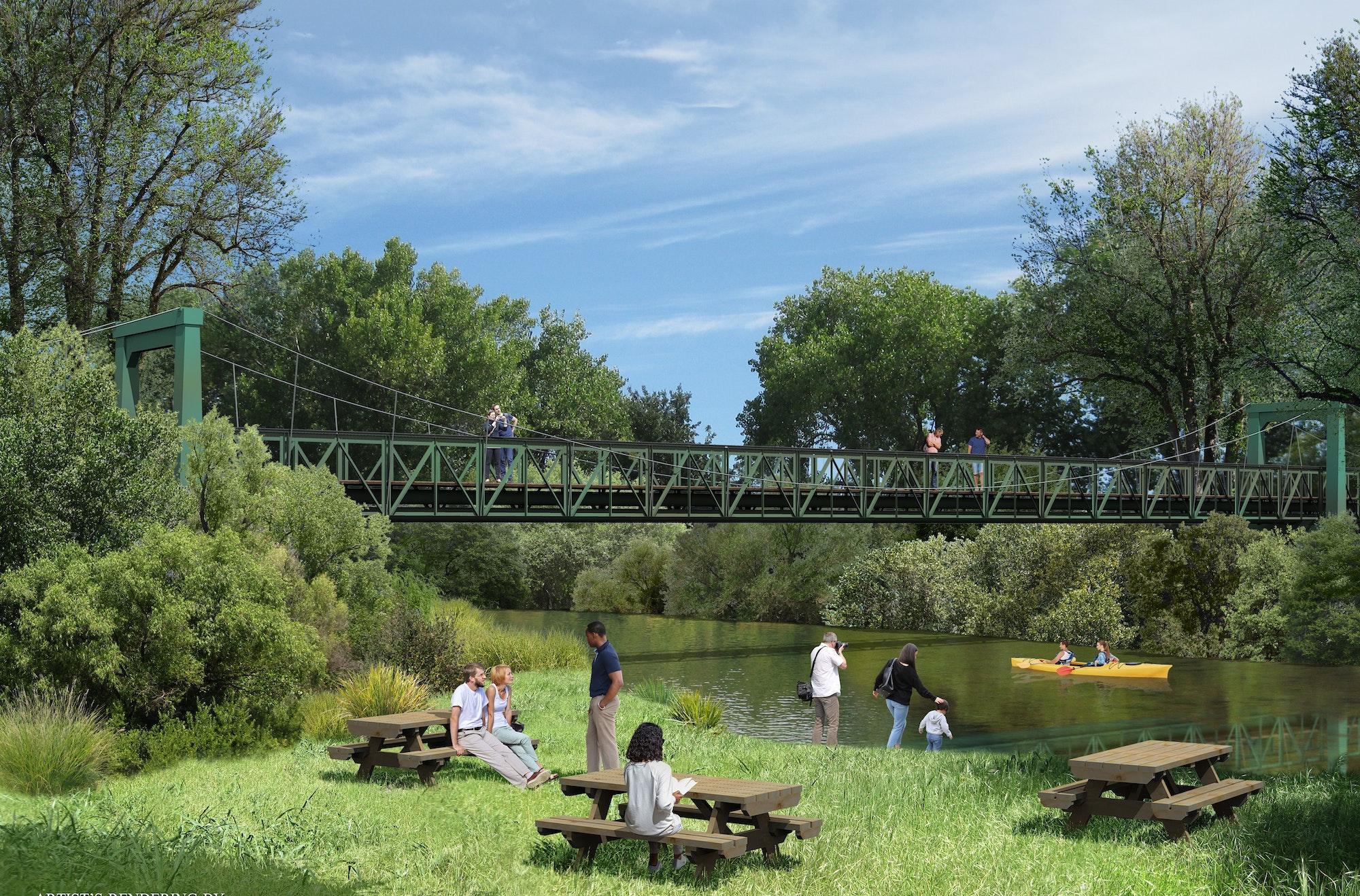 CAWD Carmel River Bridge Rendering