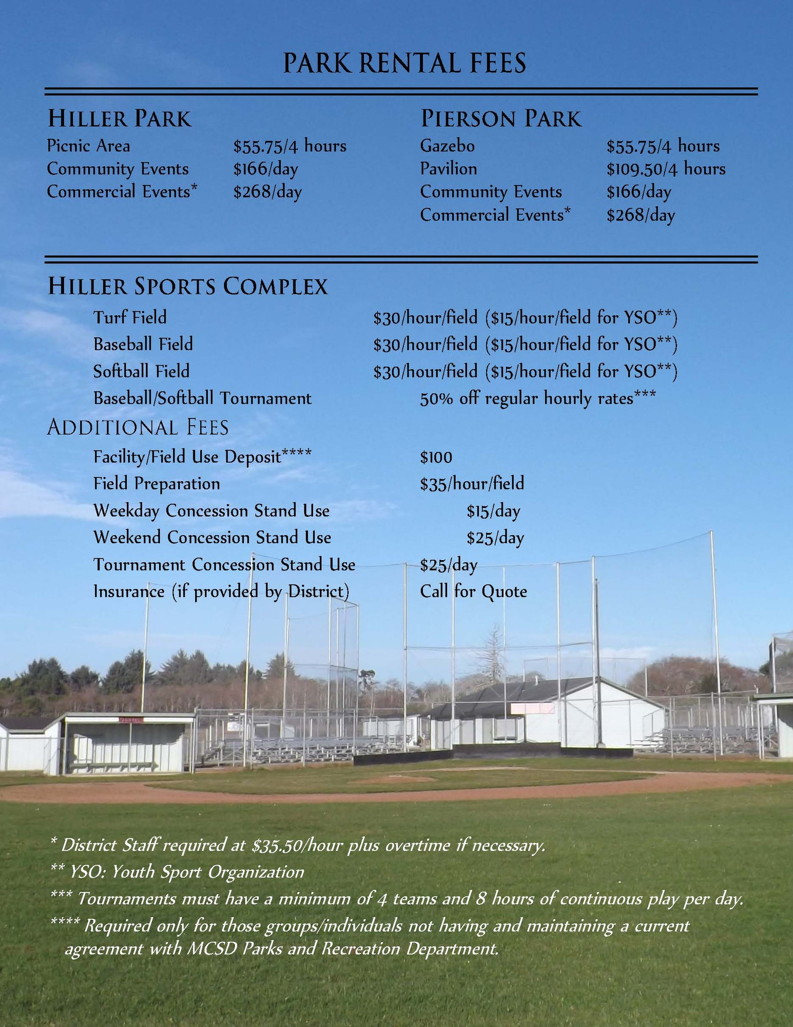 May contain: sports, team, team sport, sport, poster, advertisement, flyer, brochure, paper, building, and field