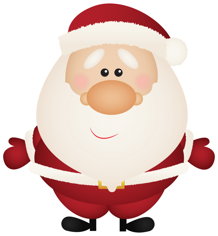 cartoon picture of Santa Claus