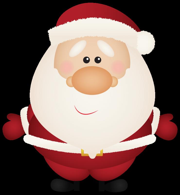 cartoon picture of Santa Claus