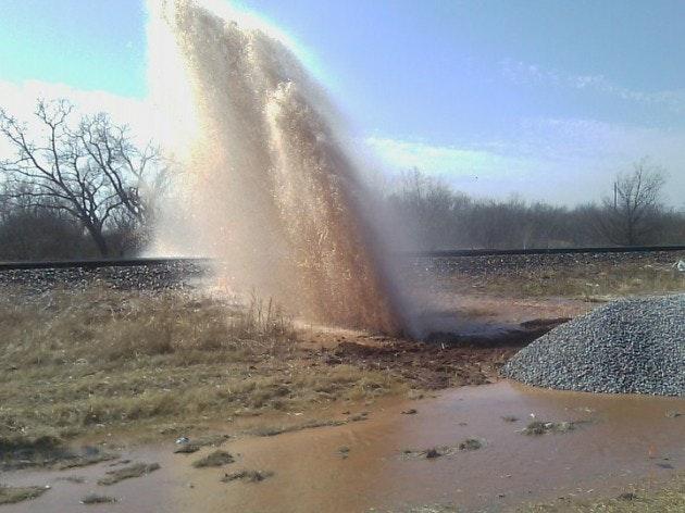 Broken Water Main