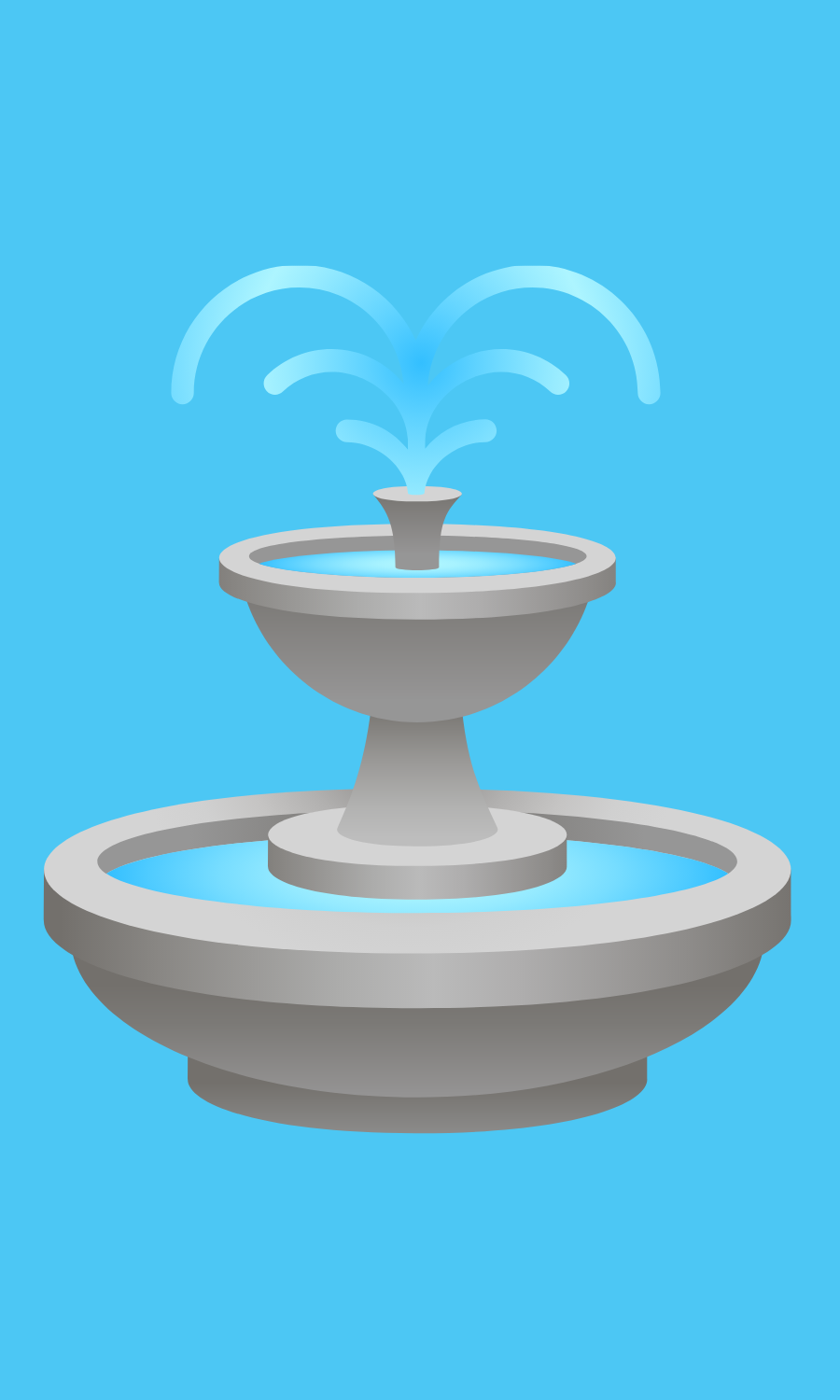 May contain: water, fountain, and drinking fountain