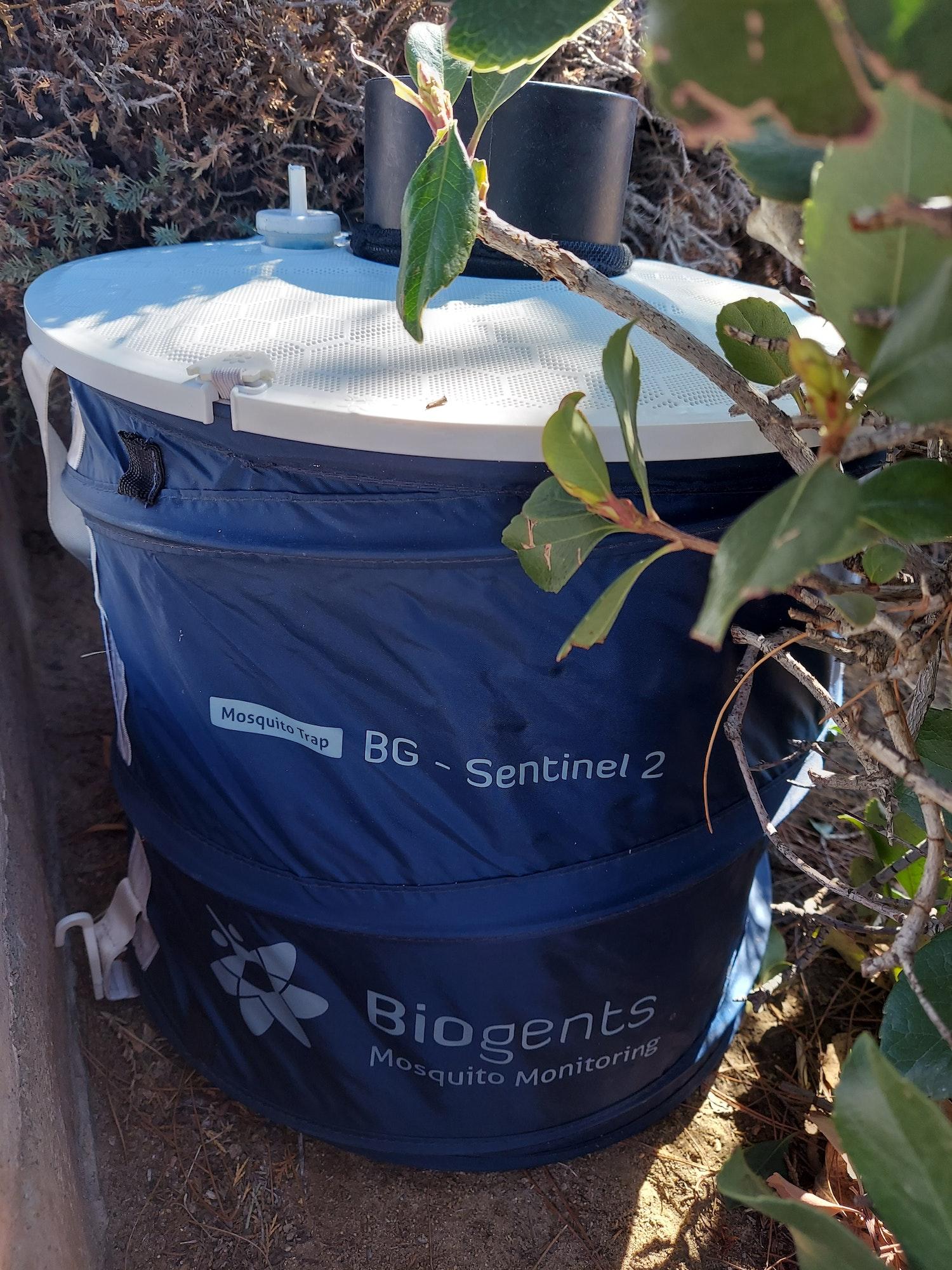 BG Sentinel mosquito trap