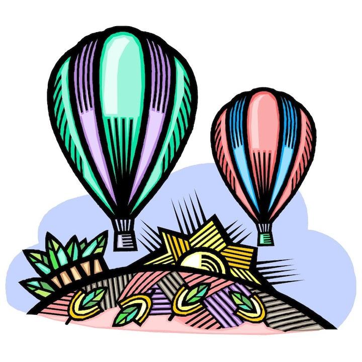 May contain: vehicle, hot air balloon, transportation, and aircraft