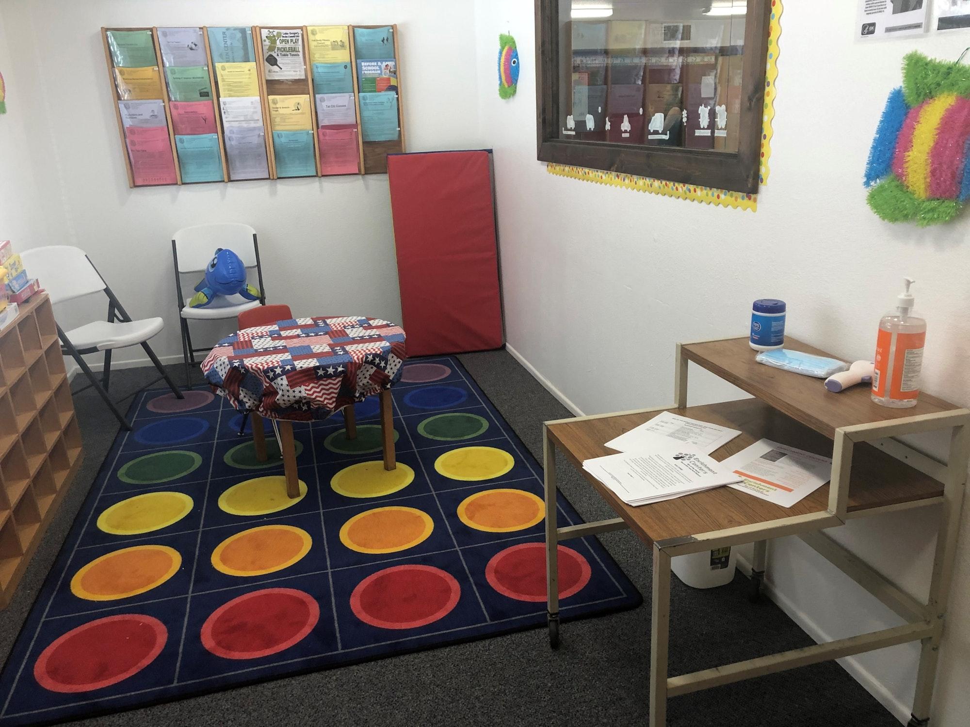 Kinder Enrichment Center Lobby
