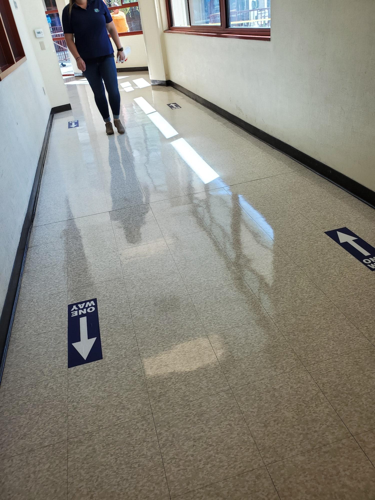 LGECC Hallway