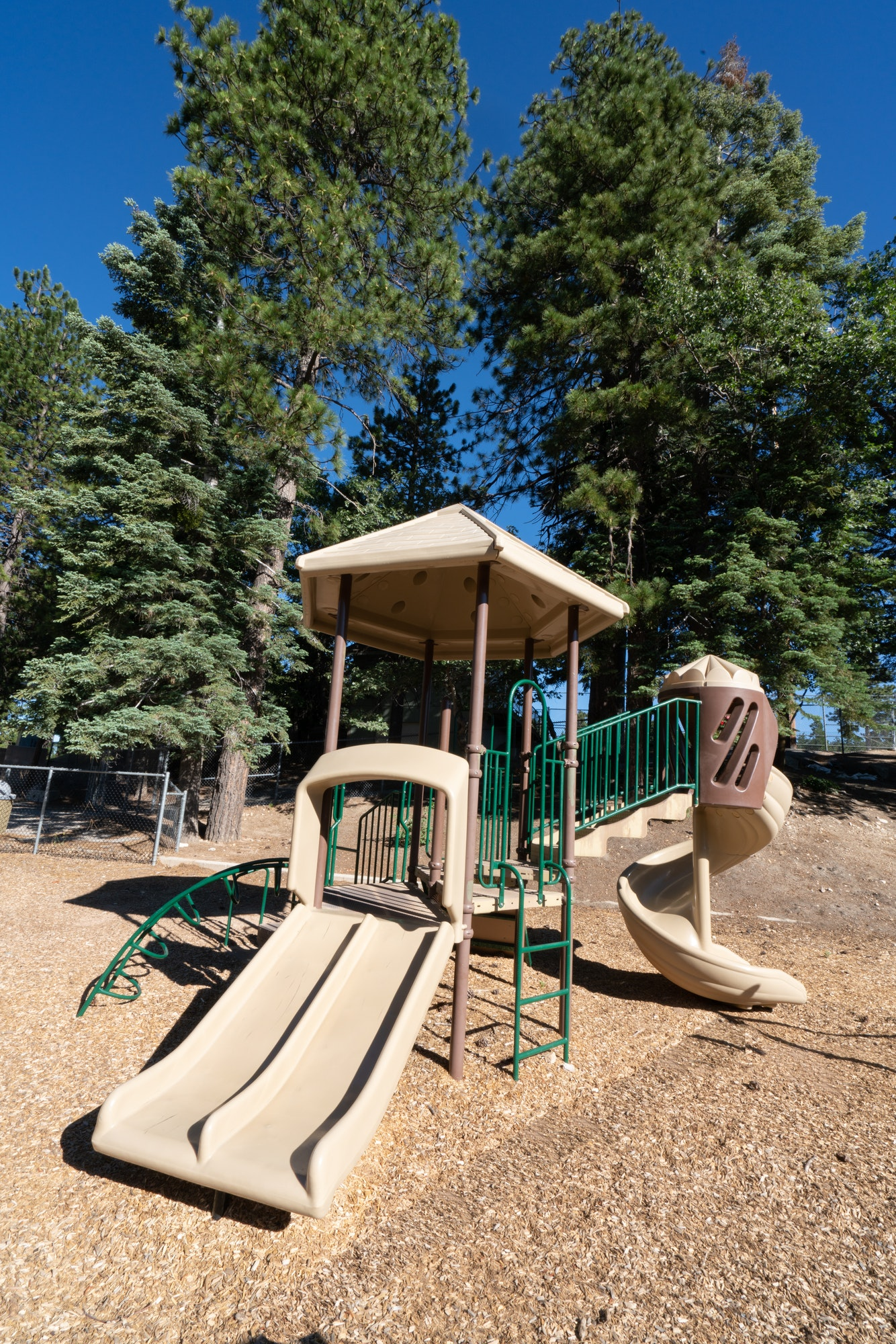 Twin Peaks playground and play area