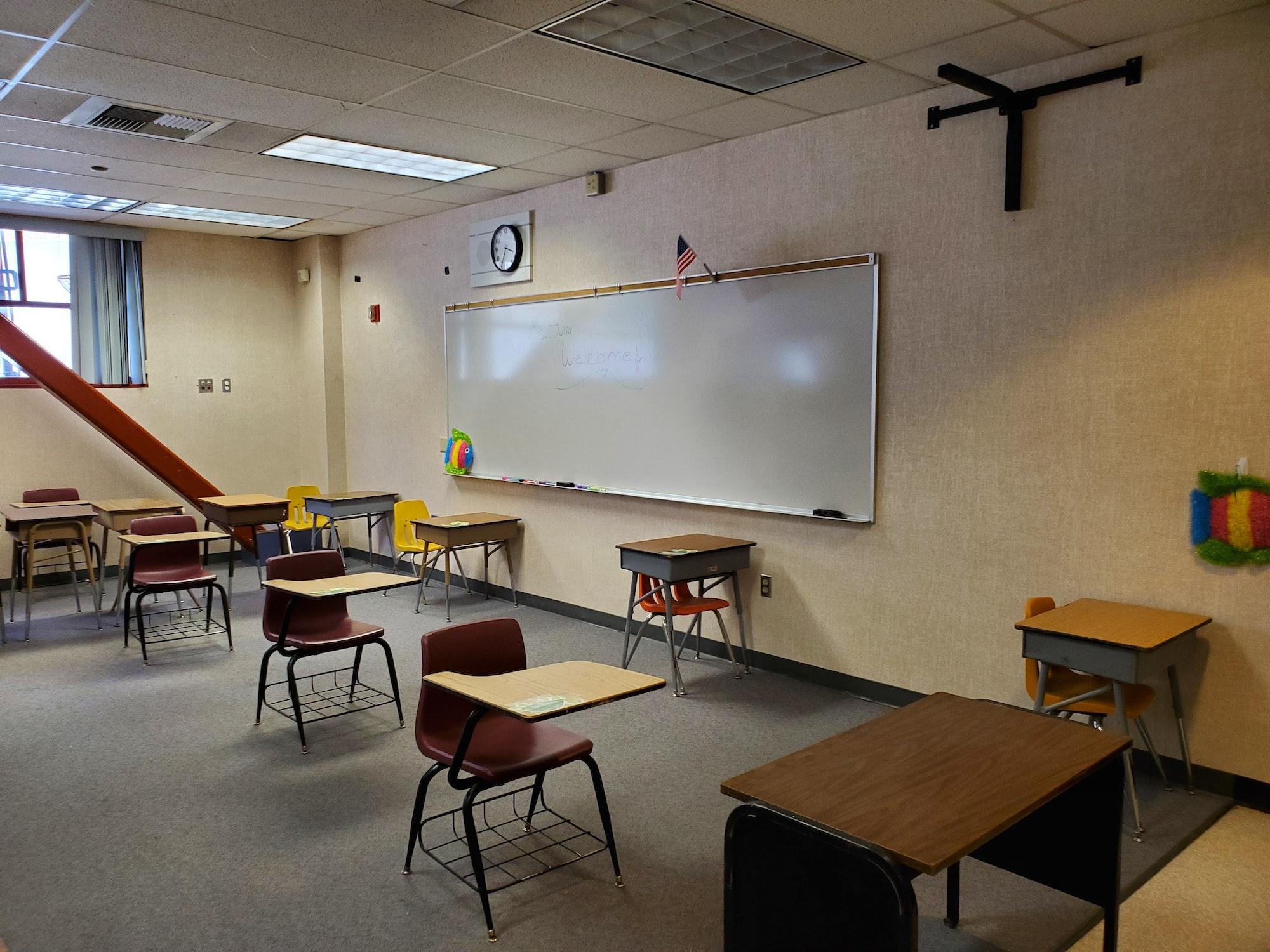 Enrichment Center Class Room at LGECC