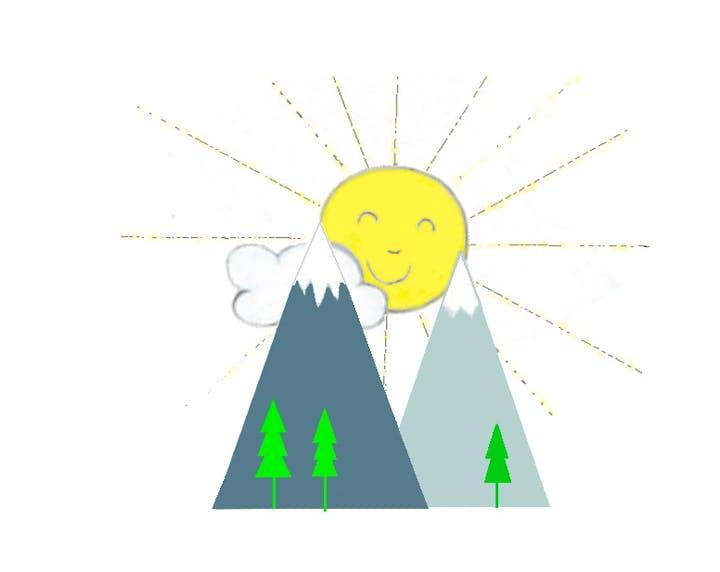 Sunrise Children's Club Preschool Logo, Rimforest, CA