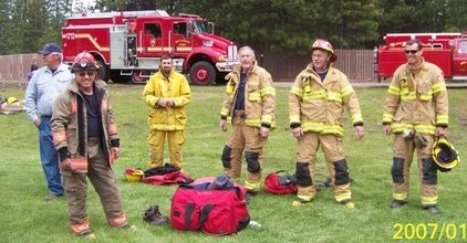 Firefighters prepare for training day