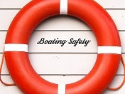 May contain: life buoy