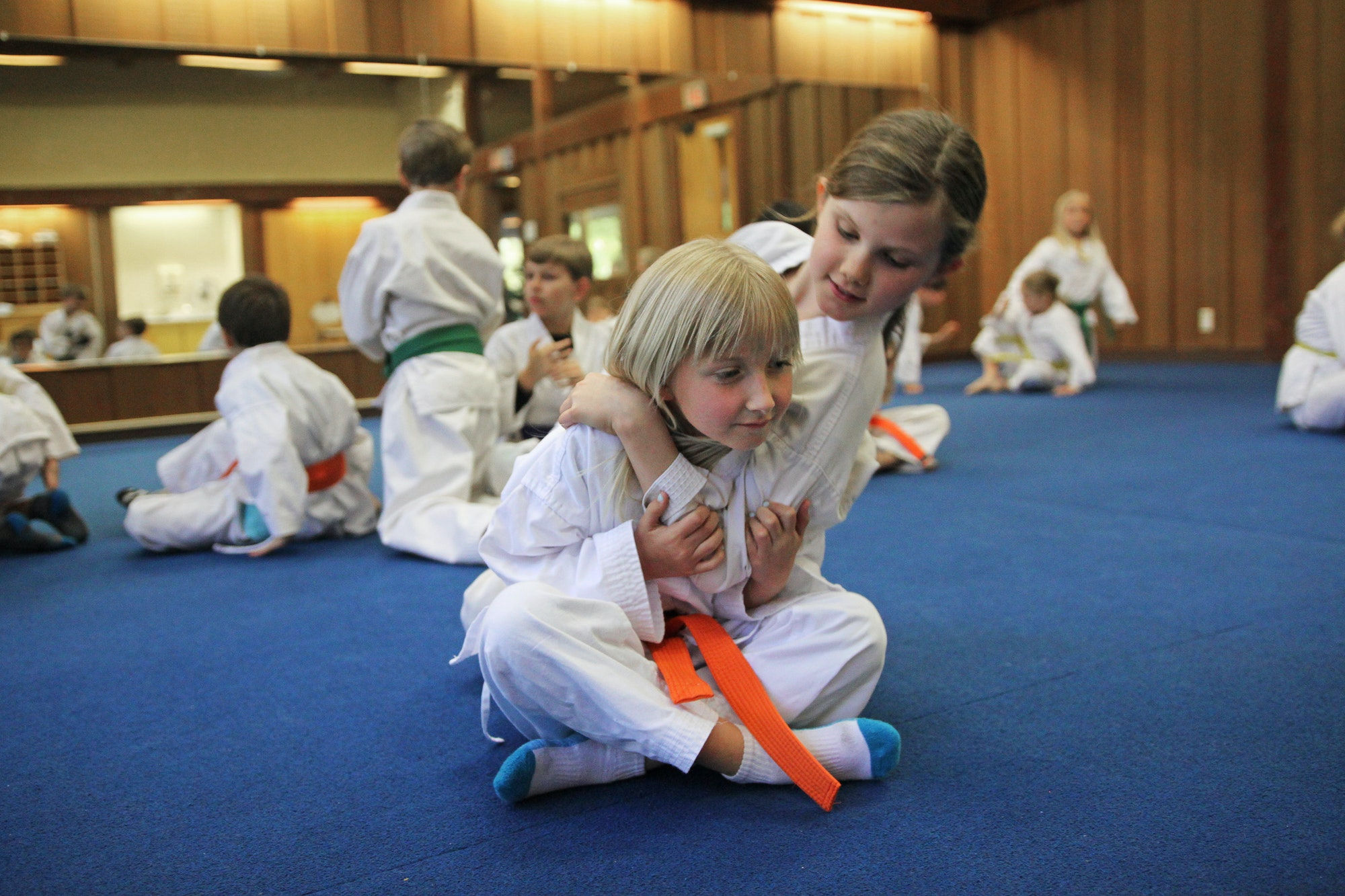 Kung Fu kiddos