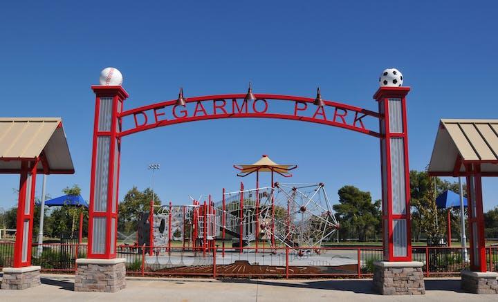 DeGarmo Park Entrance