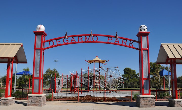 DeGarmo Park Entrance