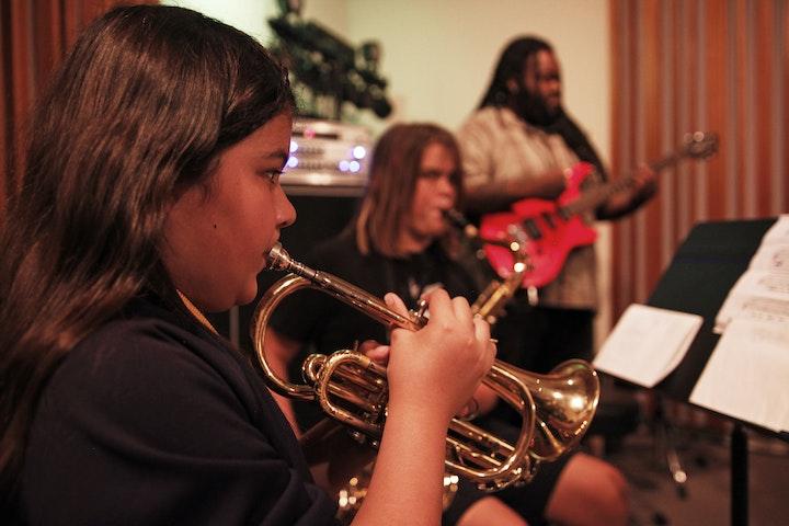 rock recording trumpet horn