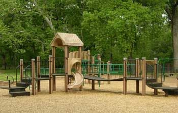 May contain: grass, plant, lawn, park, outdoors, play area, and playground
