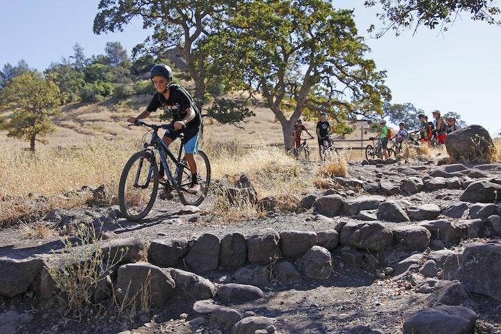 Mountain Bike in Upper Park
