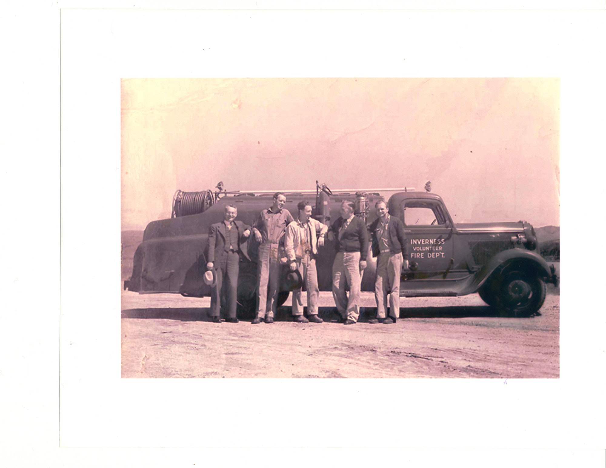 1948 Inverness Volunteer Firefighter