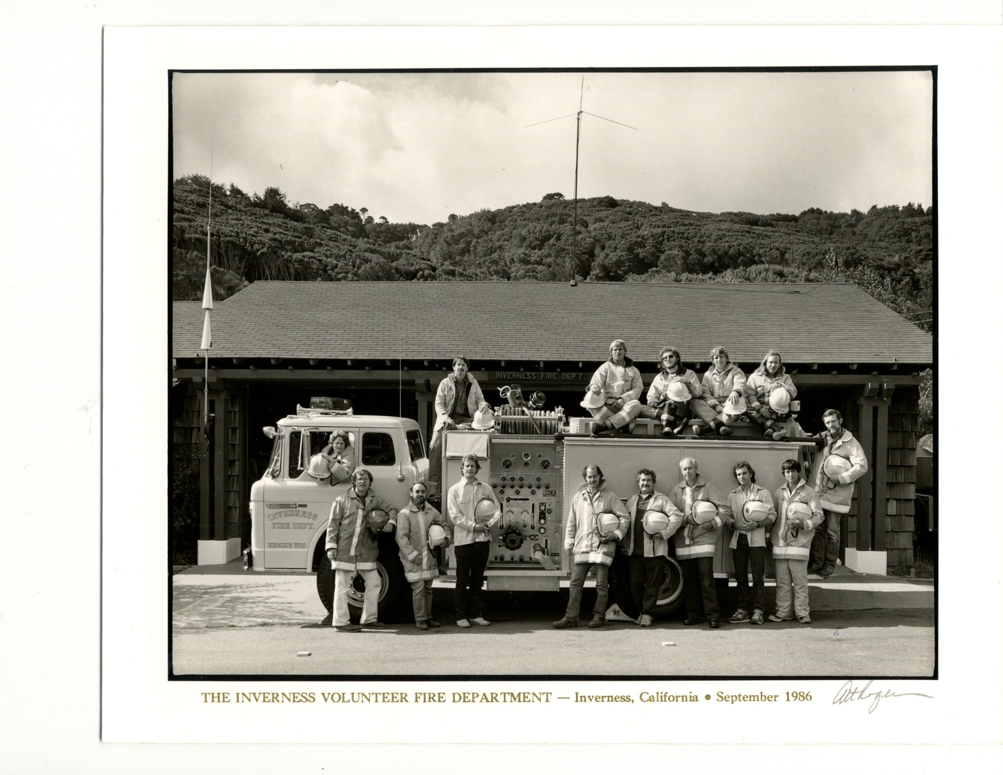 1986 Inverness Volunteer Firefighters