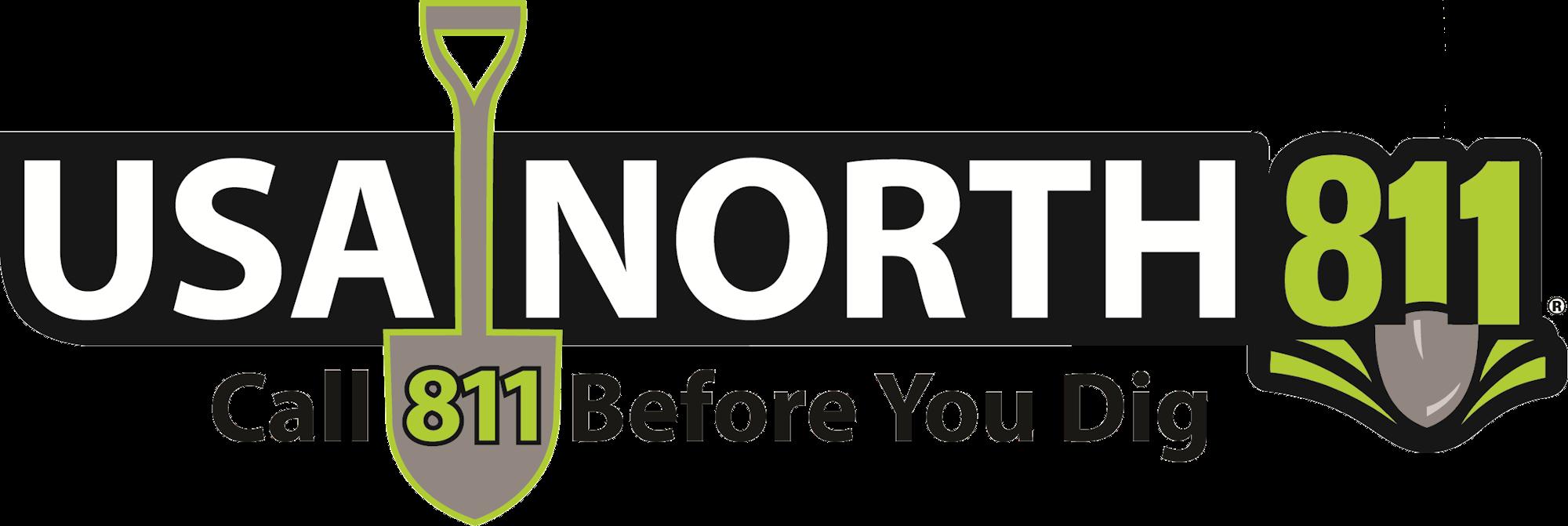 USA North 811 logo