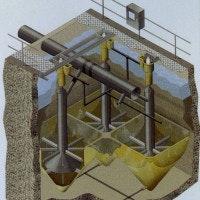 sand filtration diagram