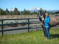 Image of Lisa Worcester and horse