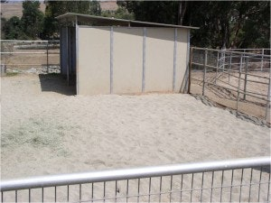 Sand can also be used to protect heavily used areas from potential problems.