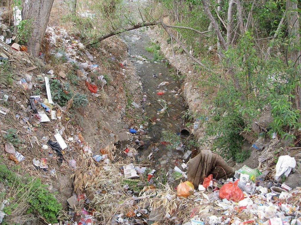 May contain: trash, human, and person