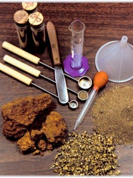 photo of soil testing equipment