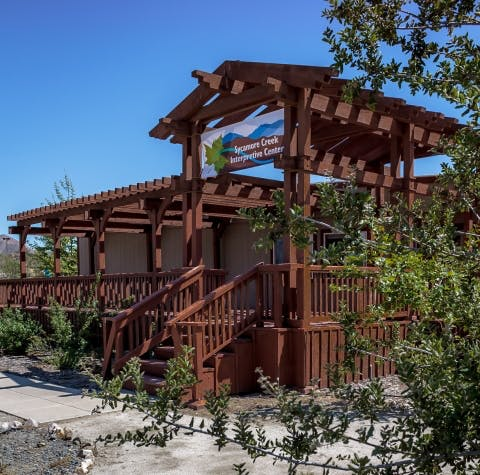 Sycamore Creek Interpretive Center building