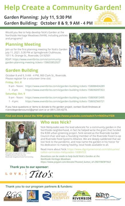 Northside Planning Flyer