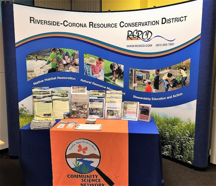 RCRCD outreach information booth.