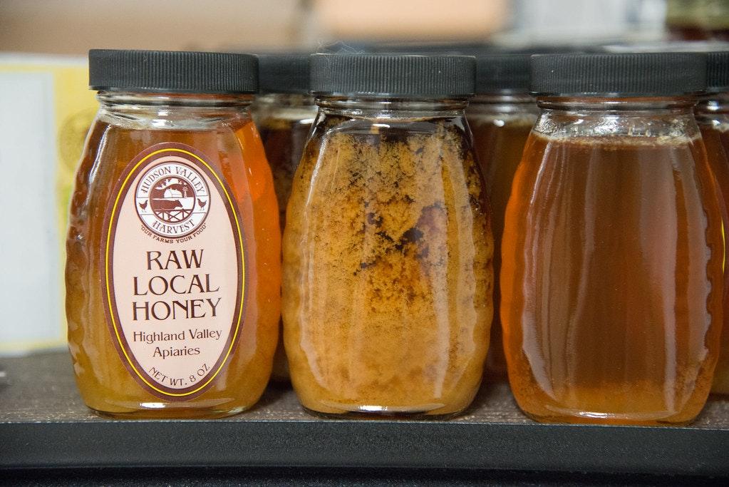 image of jars of local honey