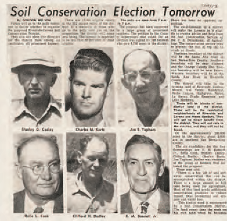 May contain: image of old newspaper article about soil conservation