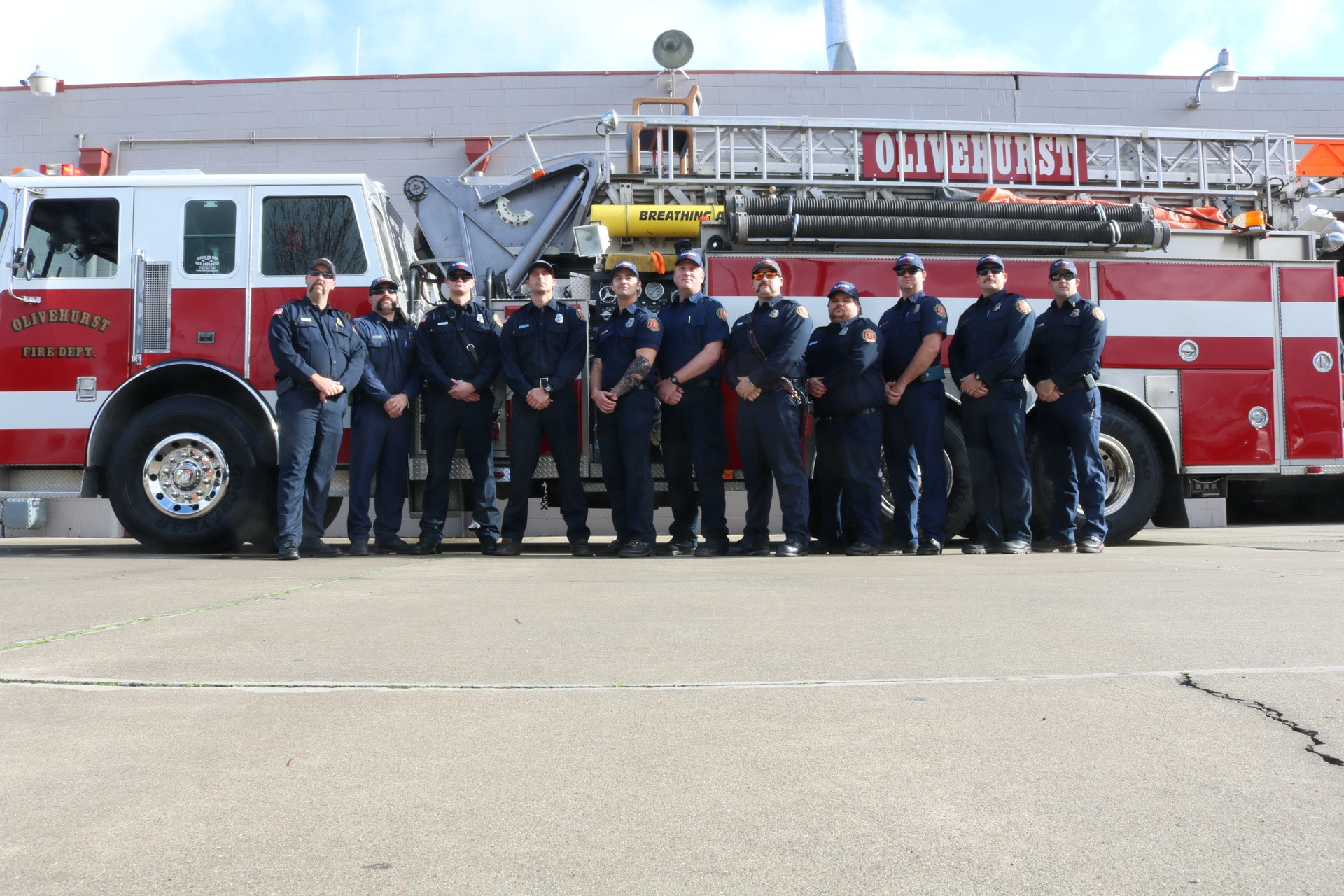 Olivehurst Fire Department Personnel