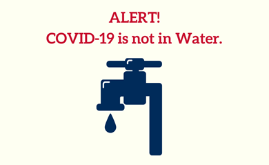 Covid-19 is not in Water