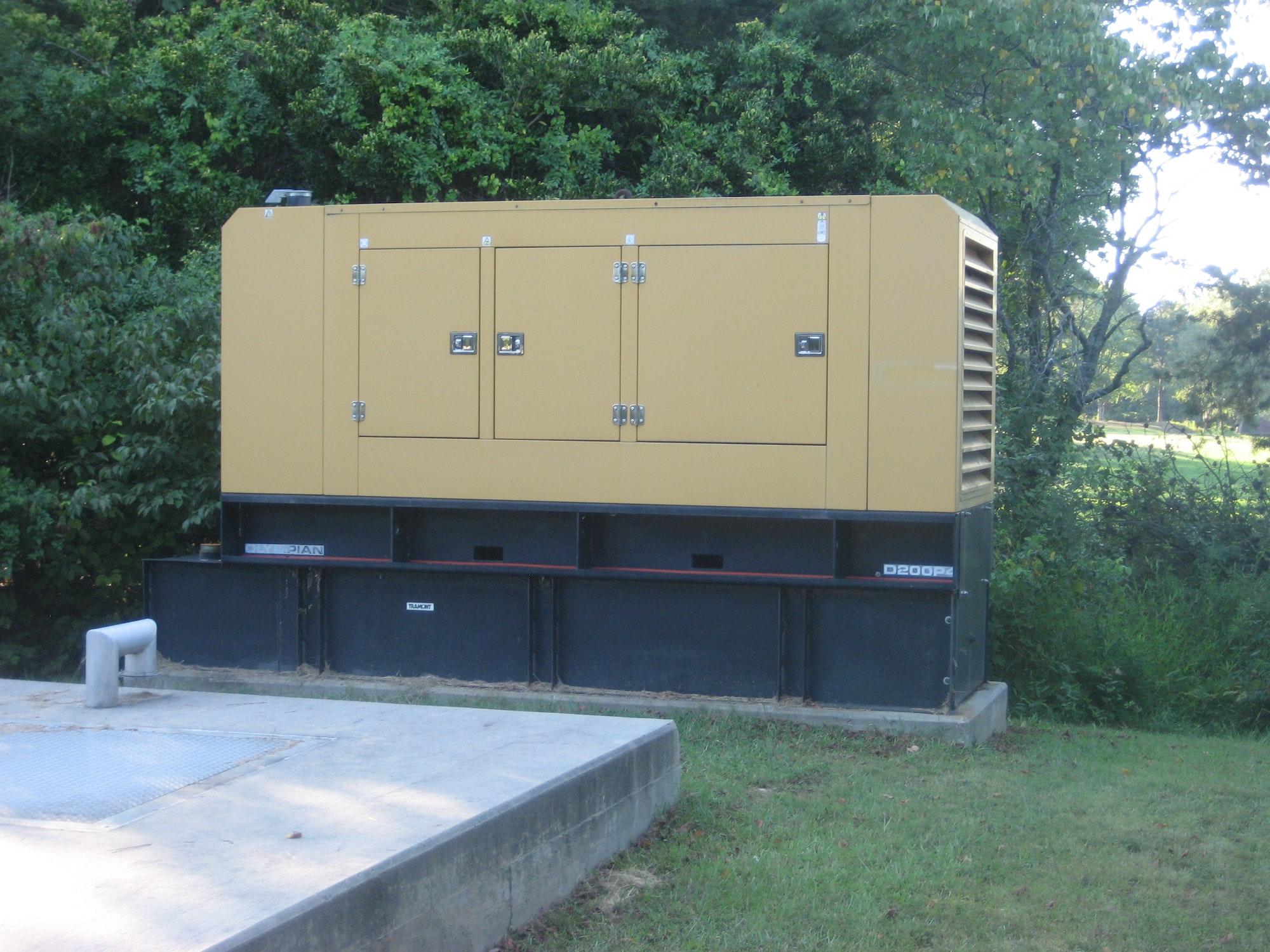 May contain: machine and generator