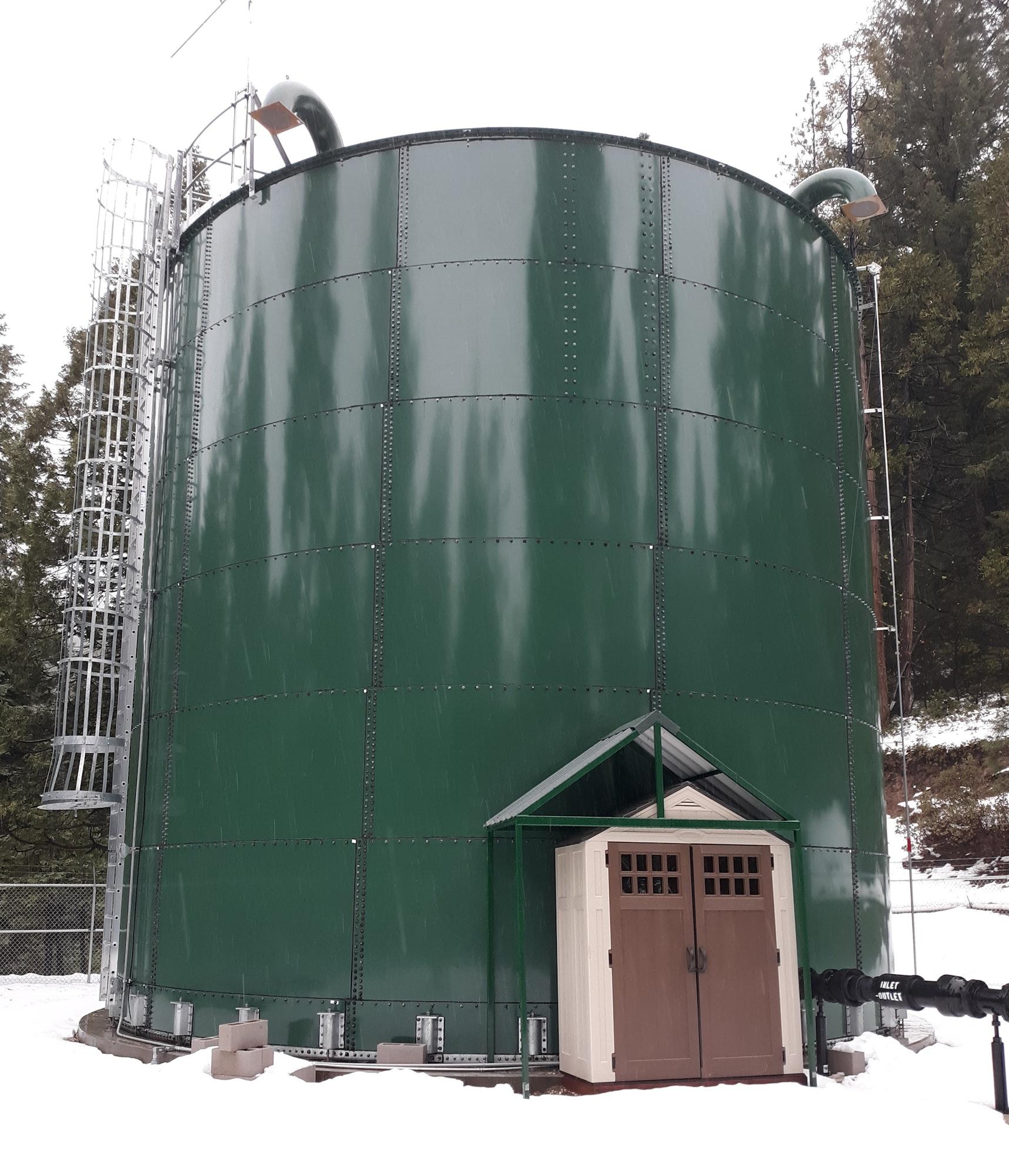 new water tank December 2019
