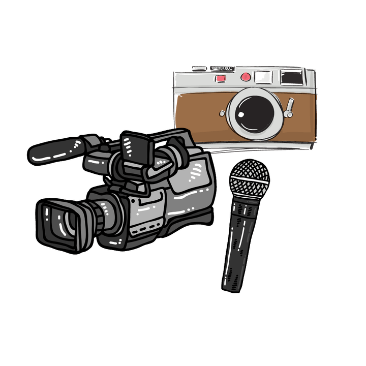 May contain: camera and electronics